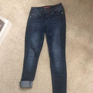 YMI Dark blue skinny jeans